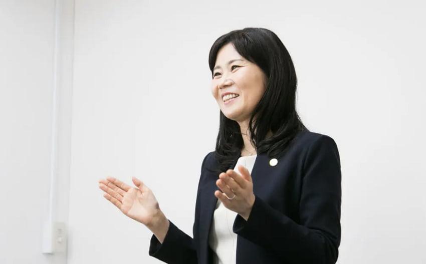 しなやか女性リーダー養成講座を行う中小企業診断士の細木聡子さん