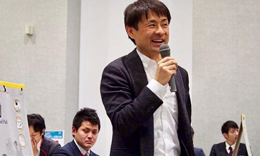 パートナーCFOの高森厚太郎さん