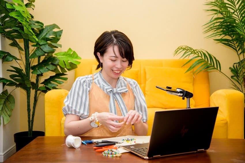 橘高千里さんの手芸教室